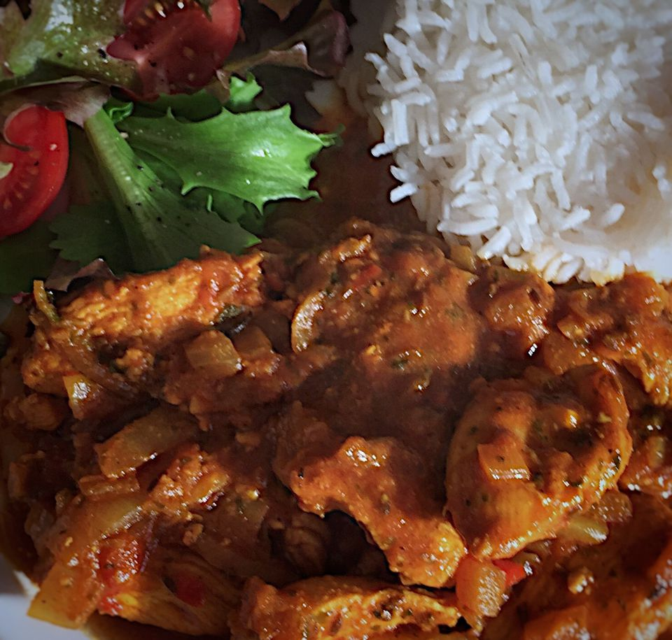 Country Captain Chicken Curry