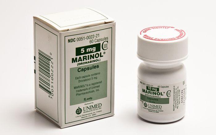 Marinol Bottle