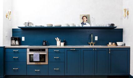 Blue Kitchen Designs kitchen design