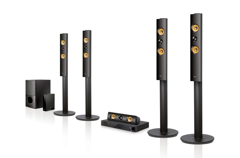 LG LHB755W 5.1 Channel Home Theater System