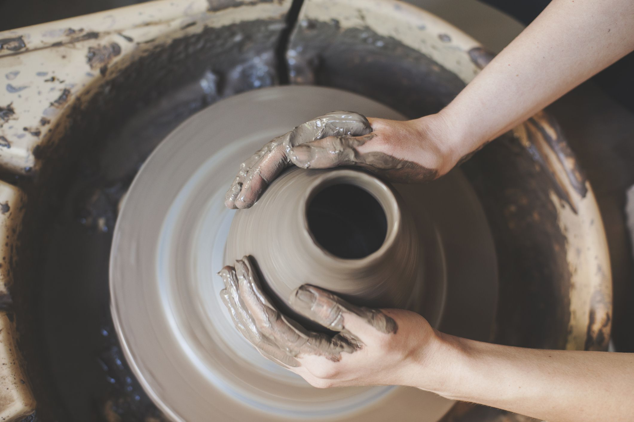 how to make pottery clay