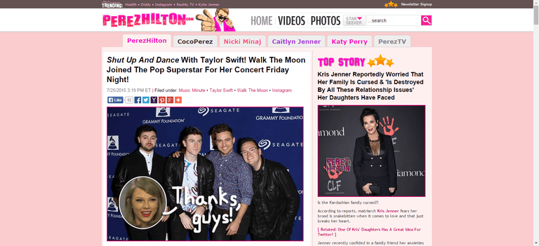 Perez Hilton - Celebrity News, Entertainment News ...