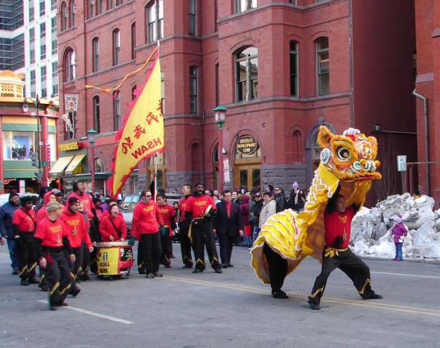 enjoy chinese dragon dance kung fu and live entertainment - Chinese New Year Dc