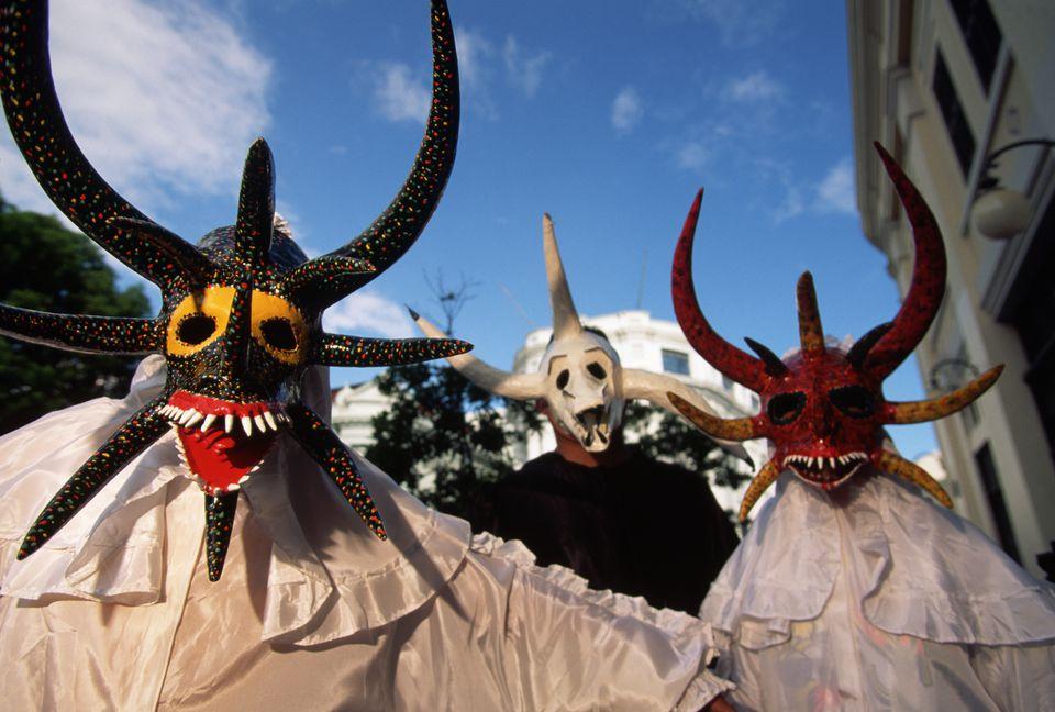 vejigante masks