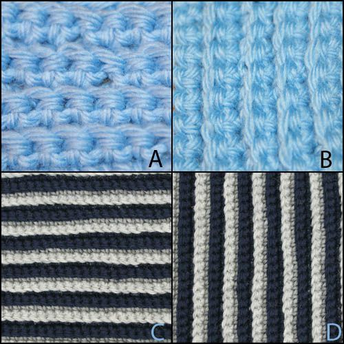 Back Loop Single Crochet Otherwise Known as