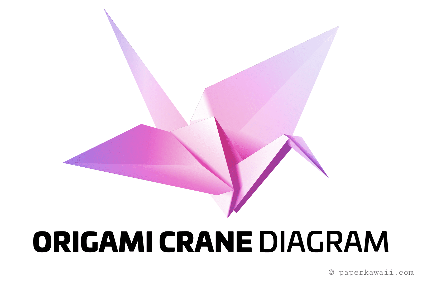 Easy origami crane instructions for How to make paper things easy step by step