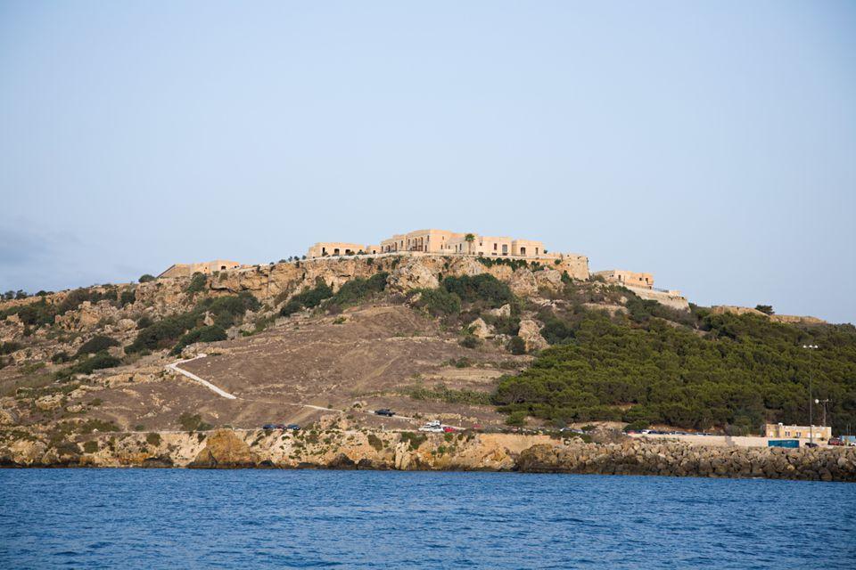 coast near Syracuse Sicily