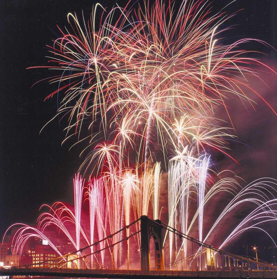 Pittsburgh Light Up Night Fireworks Photo: Zambelli Internationale