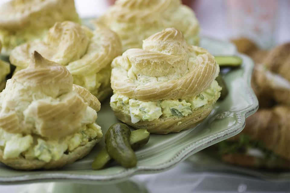 Egg Salad Puff Pastry