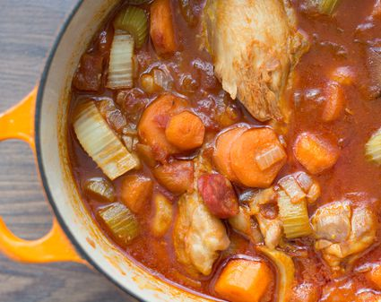 how to make rabbit stew in slow cooker