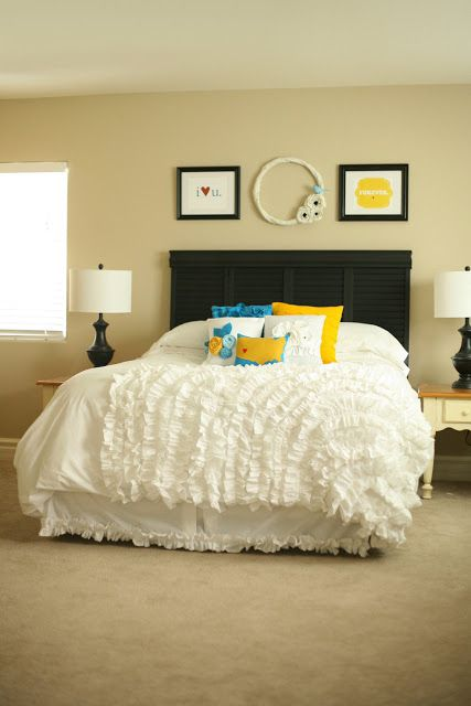 DIY bedroom decor duvet cover ideas
