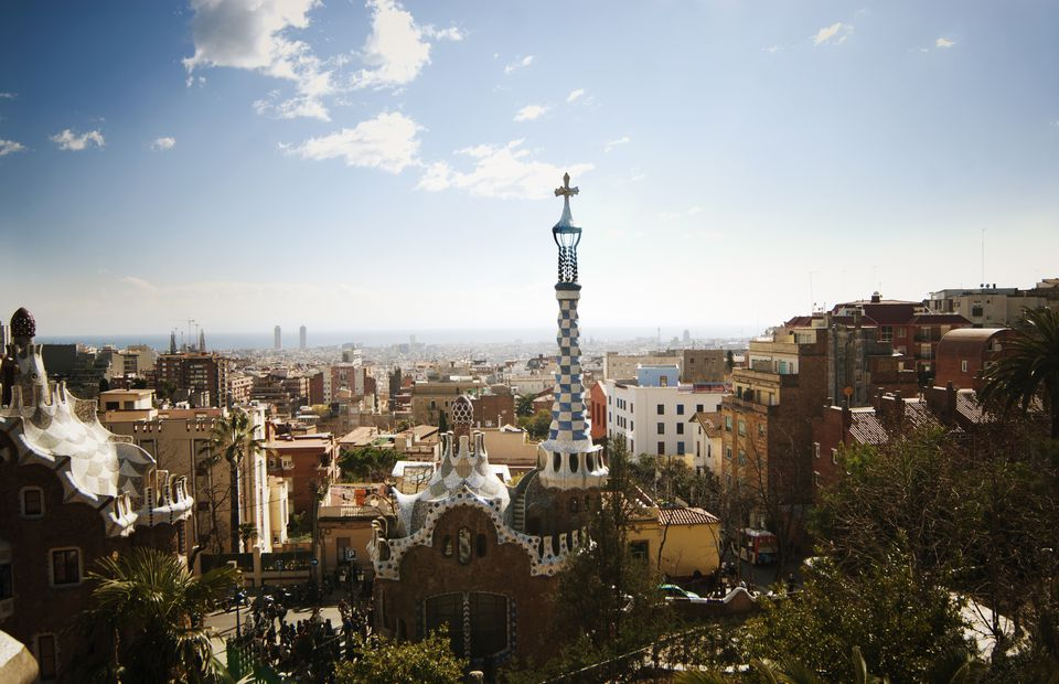 View of the Parc Guell
