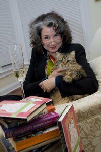 Photo portrait of Gina Barreca by L. Brisson