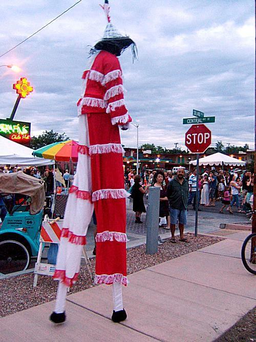 Summerfest Stiltwalker