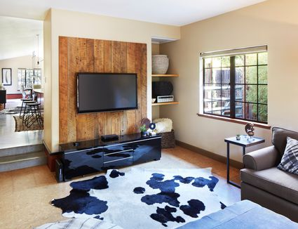 Wood Paneling Alternative Drywall And Paint