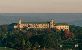 The Hershey Hotel - overview. Photo courtesy of Hershey Entertainment.
