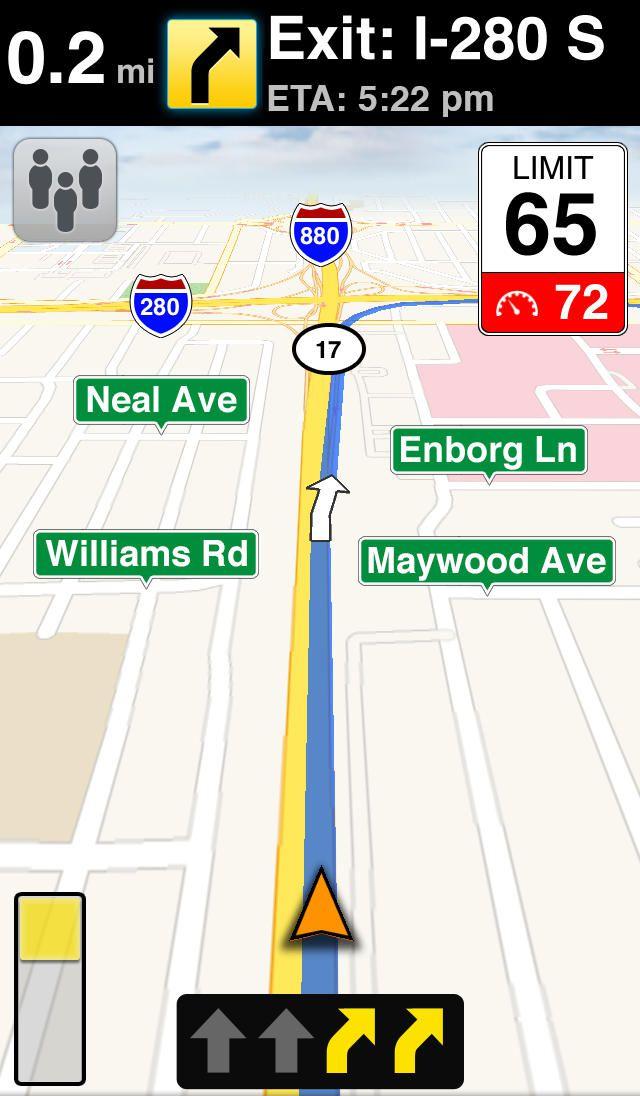 MotionX GPS Drive iPhone Navigation App