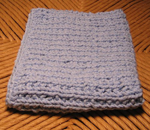 Broken rib washcloth