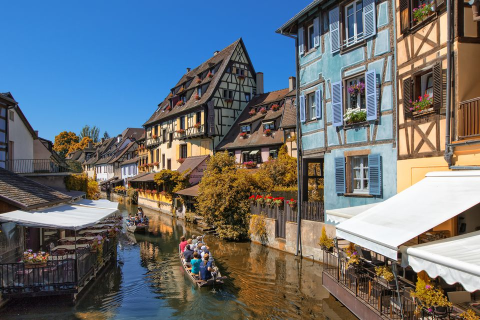 The 'little Venice' in Colmar