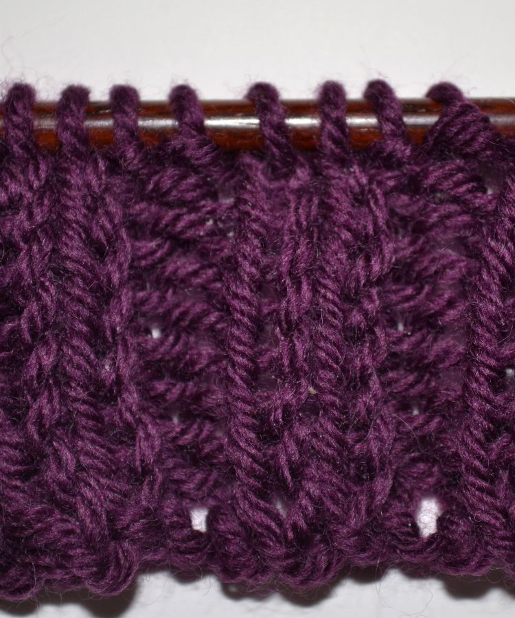 Knits and Purls in Ribbing