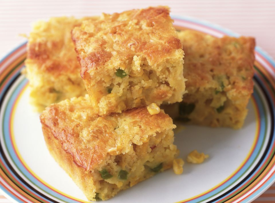 Mexican Cornbread With Peppers