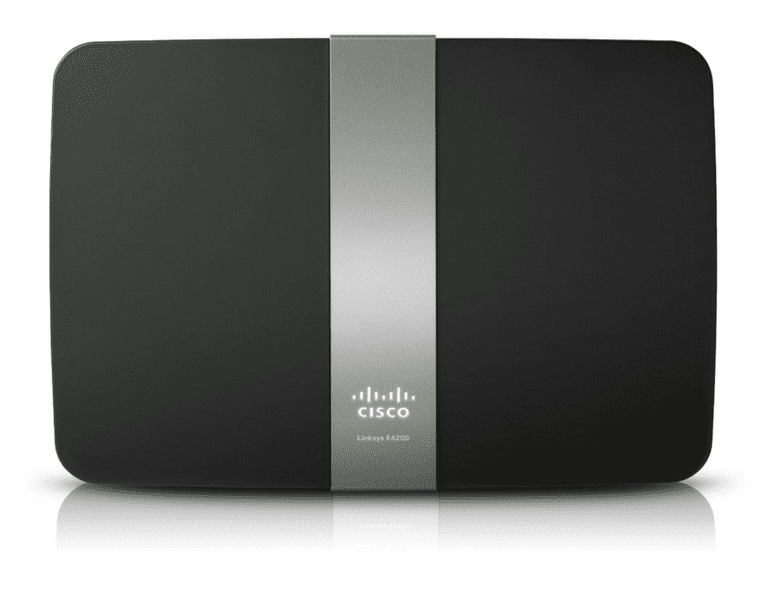 Picture of the Linksys E4200 router