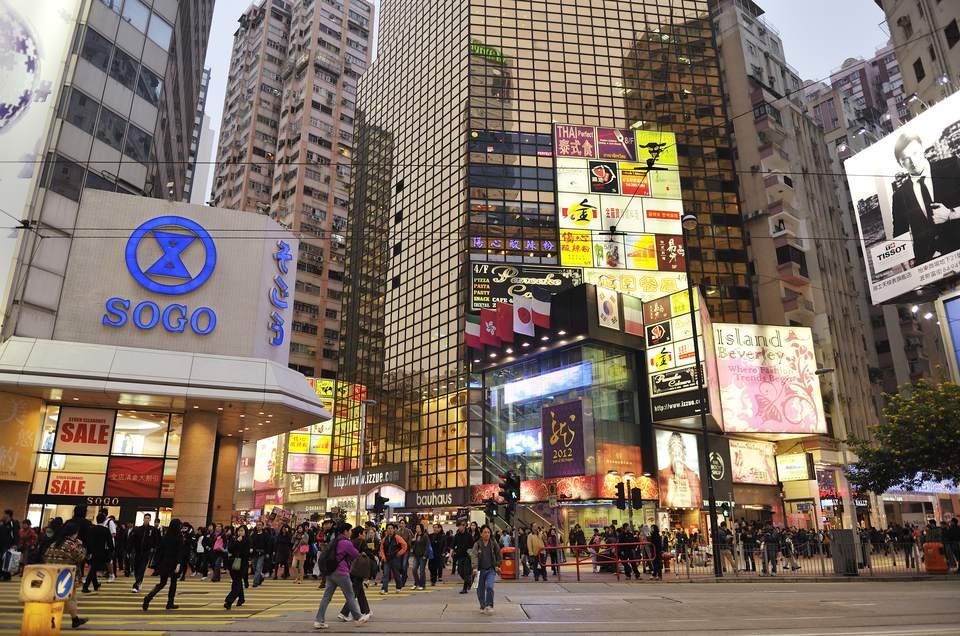 Causeway Bay Hong Kong Profile And Where To Shop