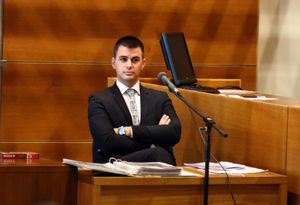 Agent testifying in court