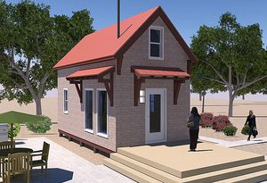Tiny Home Designs Plans. The 12x24 Homesteader s Cabin Plan from Tiny House Design 7 Free Plans