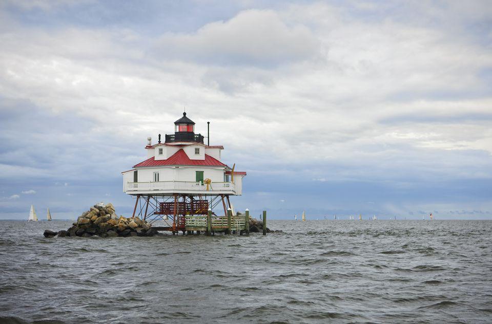 Thomas Point Lighthouse, Chesapeake Bay