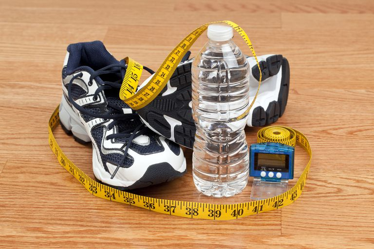 Walking Off Weight - Shoes, Water Bottle, Pedometer