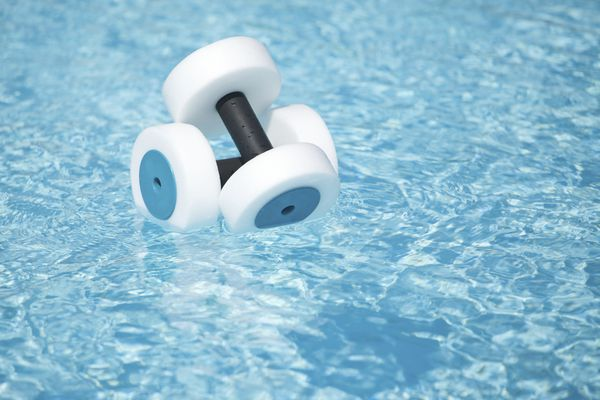 Water therapy flotation equipment.