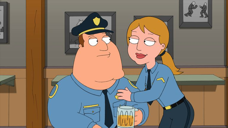 Joe and Guest Star in 'Family Guy'