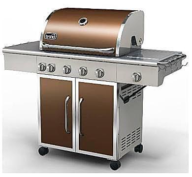 Bond Majestic Stainless Steel Propane Gas Grill Model# GSF2818K