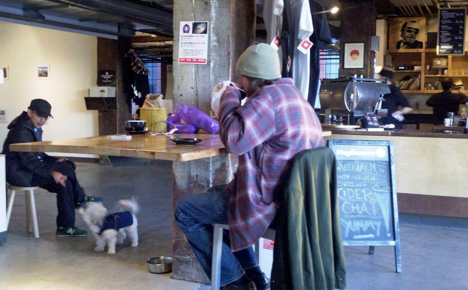 An insiders tour of the coffeehouse scene in burlington vt