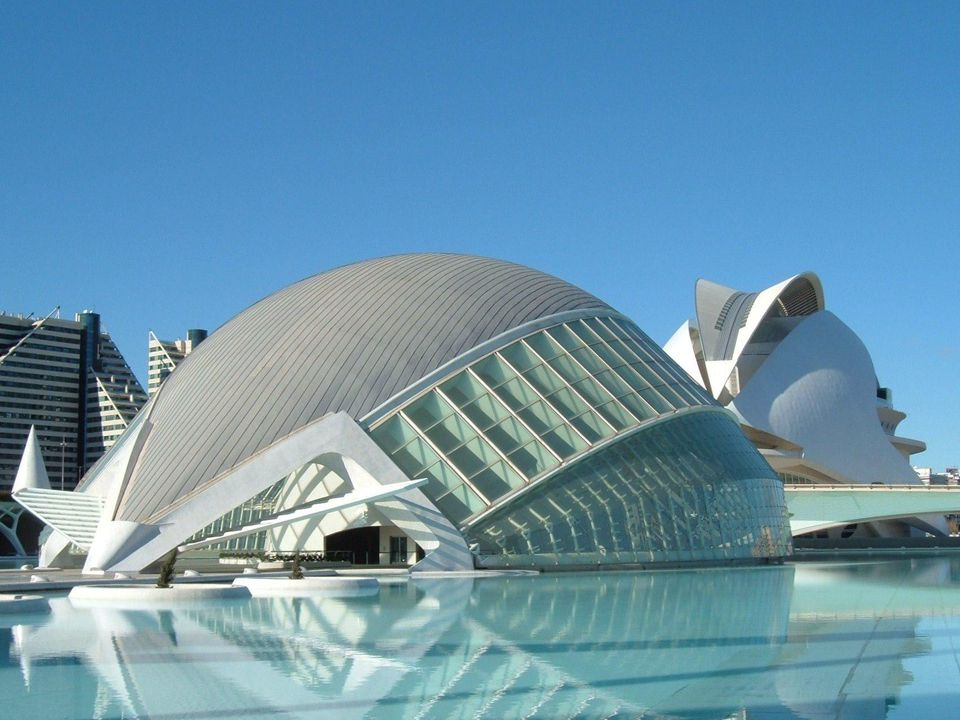 The City of Arts and Sciences in Valencia, a popular draw to the city