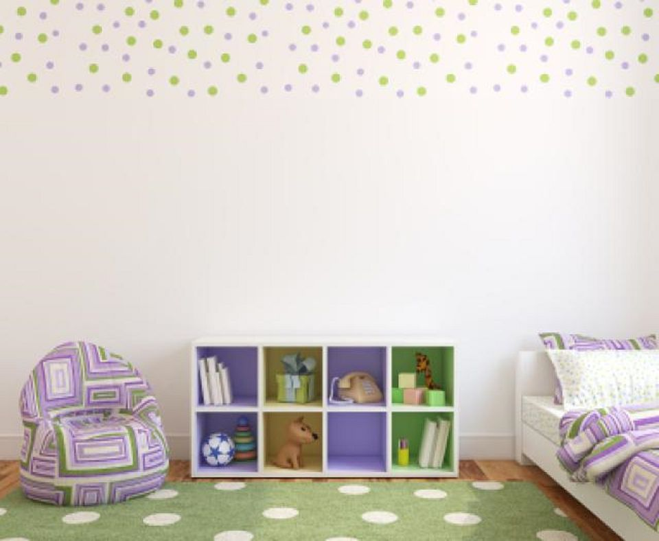 Wallpaper Borders For Bedrooms. Kid s room with wallpaper border  Different Ways to Use Wallpaper in a Bedroom
