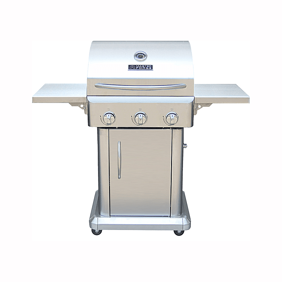 master forge 6 burner gas grill review