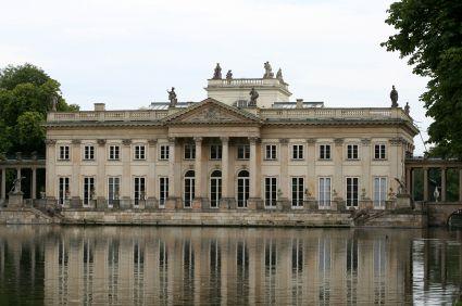 Lazienki Palace Warsaw Poland