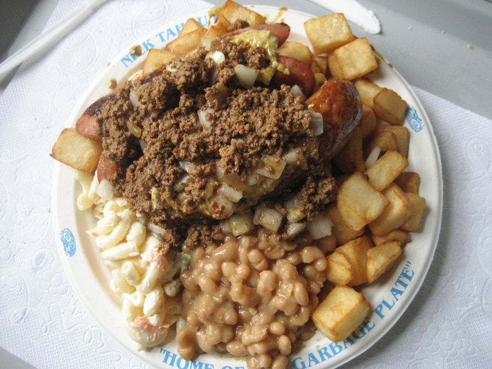 Rochester New York S Famous Quot Garbage Plate Quot Recipe
