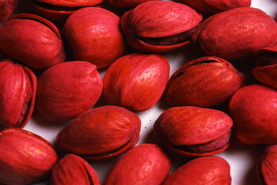 Red Pistachio nuts