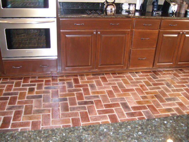 Kitchen Laminate Tile Effect