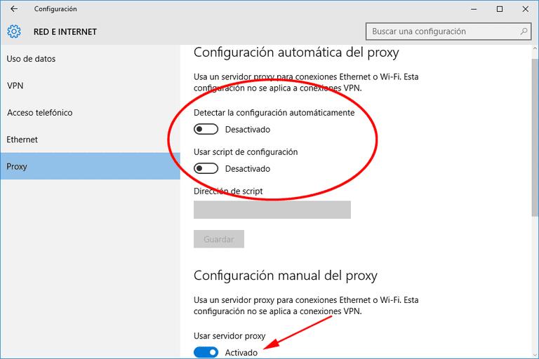 Proxy chrome windows 10