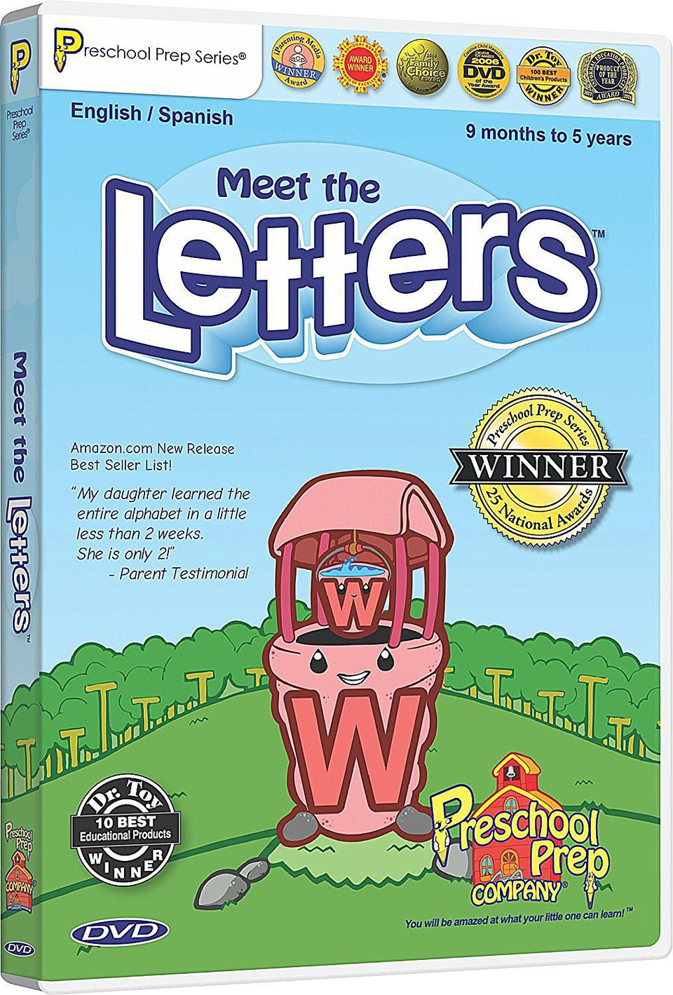Meet the Letters DVD