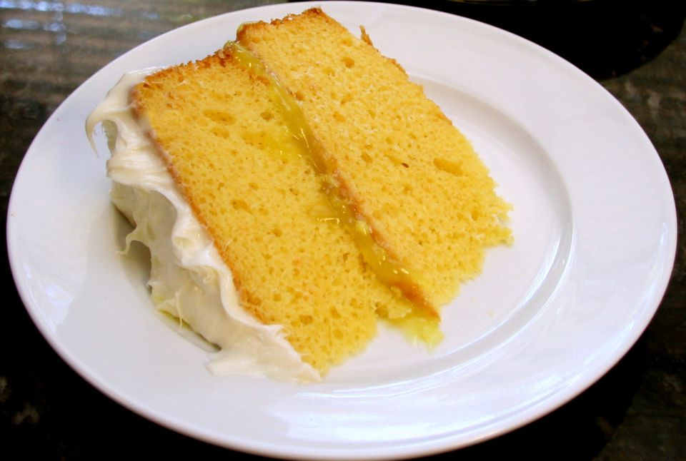 Lemon Layer Cake Food And Wine