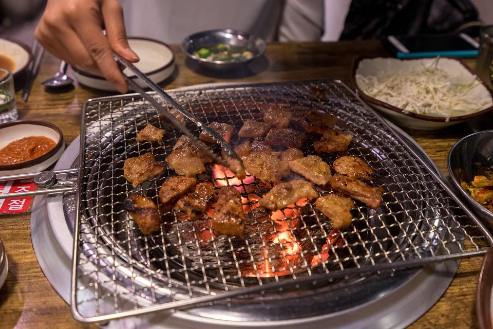 Korean Sesame Steak