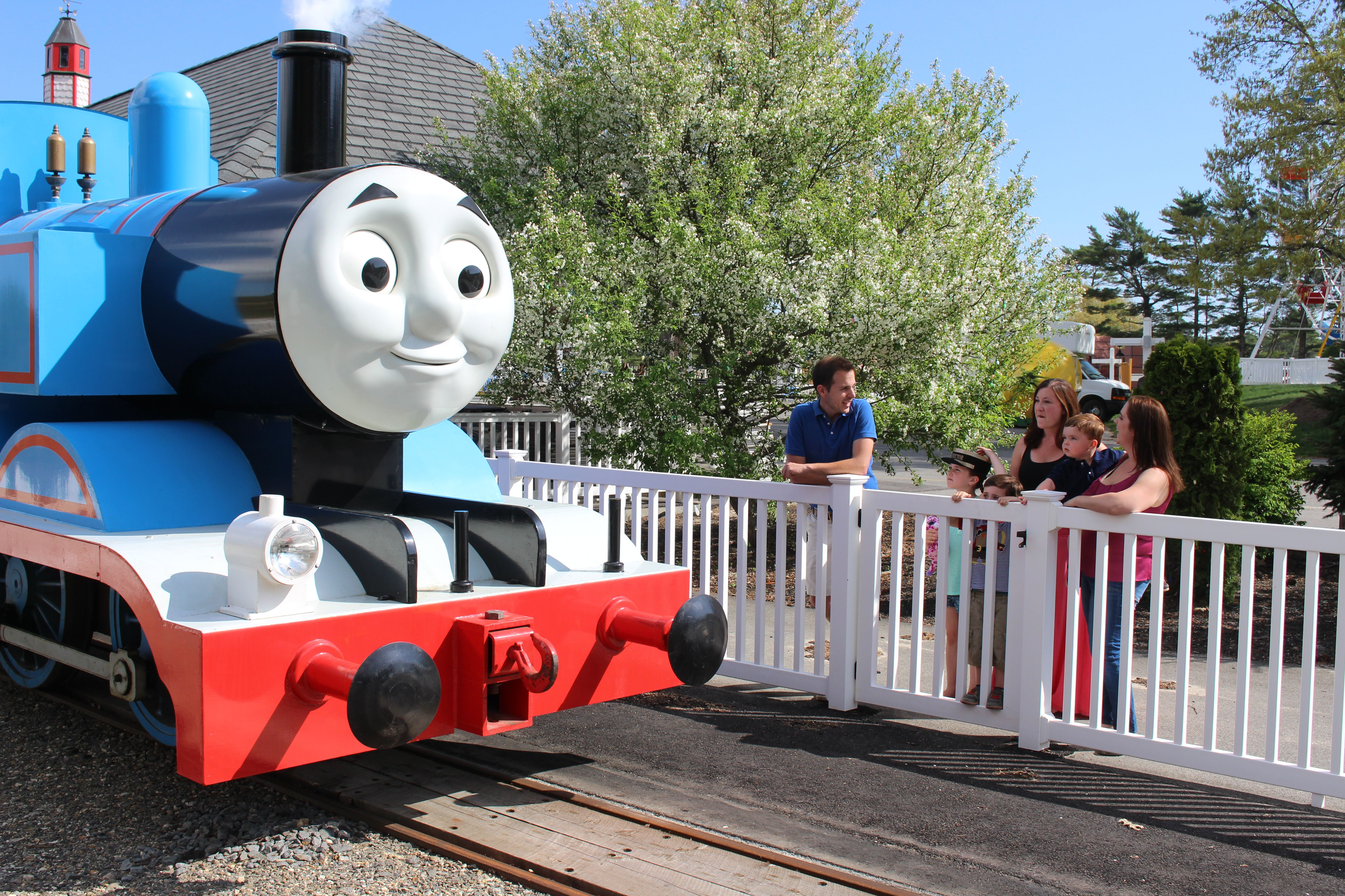. Meet the New Thomas the Tank Engine Theme Park  Thomas Land