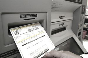 Vcom machine printing money order