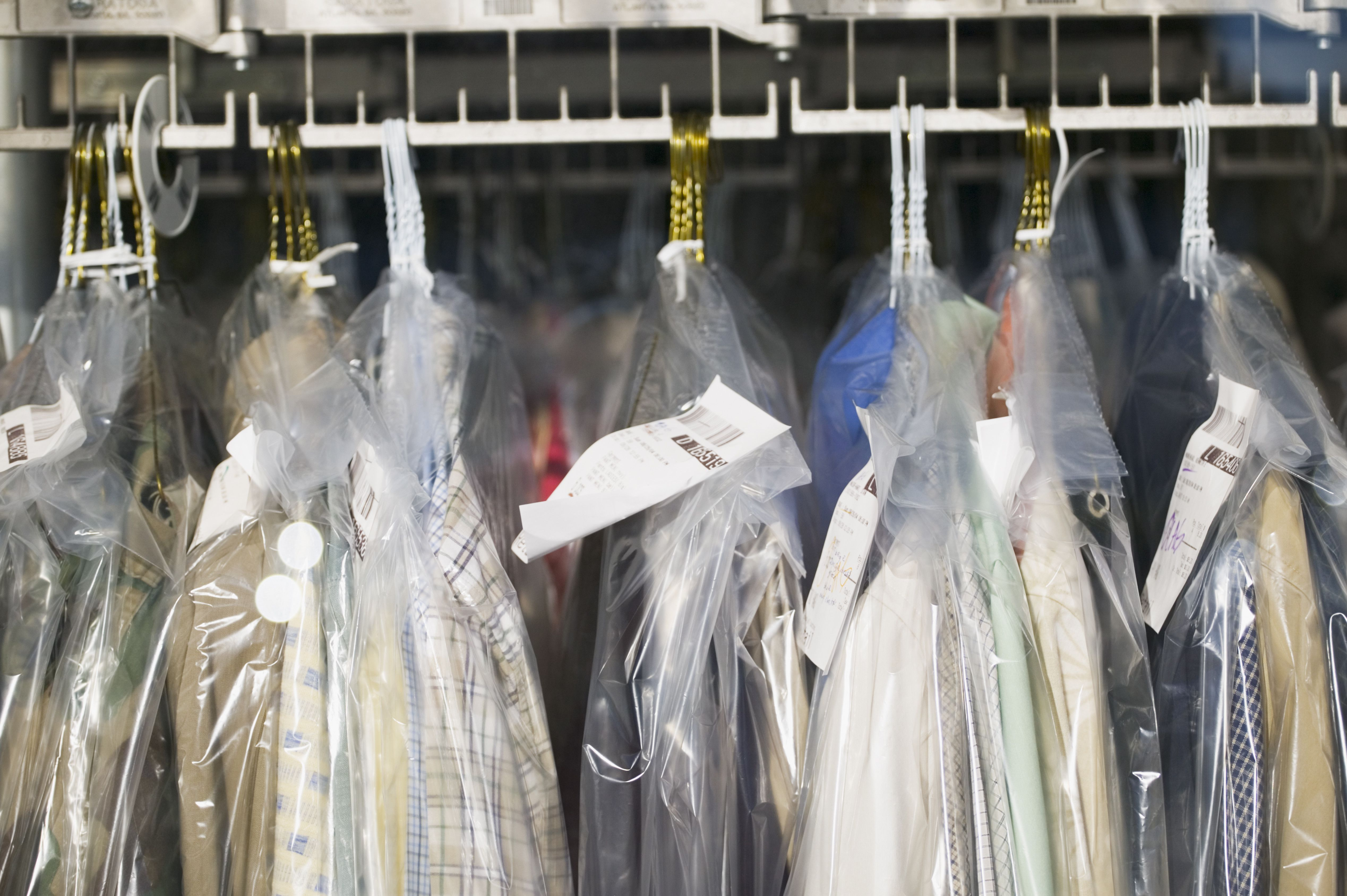Can Plastic Dry Cleaning Bags Cause Problems