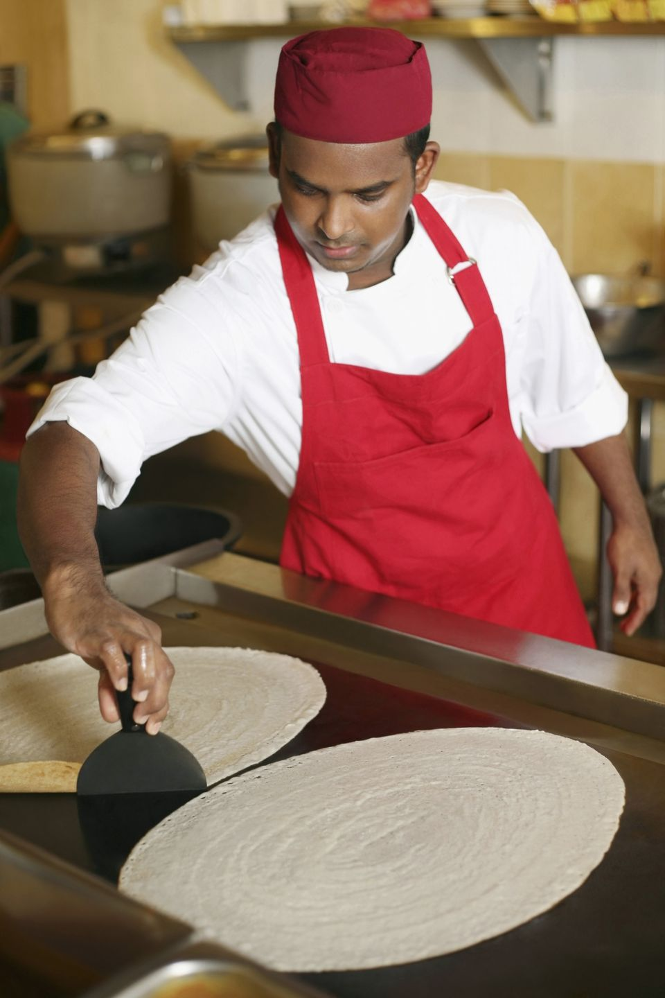 Making Dosa - Savory, Crispy Indian Pancakes